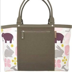 Dwell Studio Gio Lemon Diaper Tote